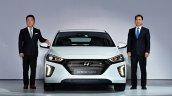 Hyundai Ioniq hybrid front