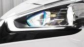 Hyundai Ioniq hybrid headlamp side view