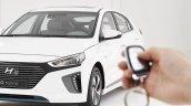 Hyundai Ioniq hybrid key fob