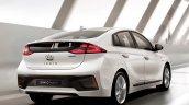 Hyundai Ioniq hybrid rear three quarters right side