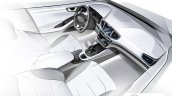 Hyundai Ioniq interior rendering