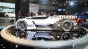 Hyundai N 2025 Vision Gran Turismo concept side profile at Auto Expo 2016
