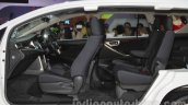 Toyota Innova Crysta cut-section interior at Auto Expo 2016