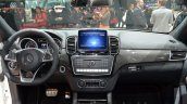 India-bound Mercedes GLS 63 dashboard at the 2016 Geneva Motor Show Live
