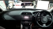 Jaguar XE dashboard at the Auto Expo 2016