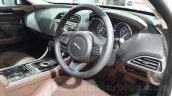 Jaguar XE interior at the Auto Expo 2016