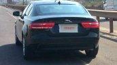 Jaguar XE rear spied in India