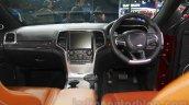 Jeep Grand Cherokee SRT dashboard at Auto Expo 2016