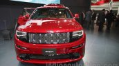 Jeep Grand Cherokee SRT front at Auto Expo 2016