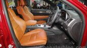 Jeep Grand Cherokee SRT front seats at Auto Expo 2016