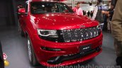 Jeep Grand Cherokee SRT front three quarters left at Auto Expo 2016