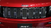 Jeep Grand Cherokee SRT grille at Auto Expo 2016