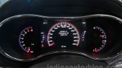 Jeep Grand Cherokee SRT instrument cluster at Auto Expo 2016