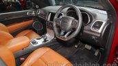 Jeep Grand Cherokee SRT interior at Auto Expo 2016