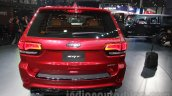 Jeep Grand Cherokee SRT rear at Auto Expo 2016
