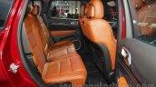 Jeep Grand Cherokee SRT rear seat at Auto Expo 2016