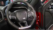 Jeep Grand Cherokee SRT steering wheel at Auto Expo 2016