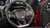 Jeep Grand Cherokee SRT steering wheel at Auto Expo 2016
