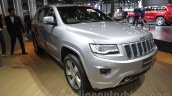Jeep Grand Cherokee front three quarters at Auto Expo 2016