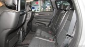 Jeep Grand Cherokee rear seat at Auto Expo 2016