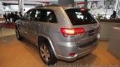 Jeep Grand Cherokee rear three quarters at Auto Expo 2016