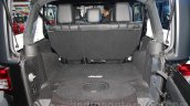 Jeep Wrangler Unlimited boot space at Auto Expo 2016