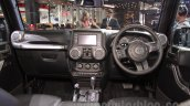 Jeep Wrangler Unlimited dashboard at Auto Expo 2016