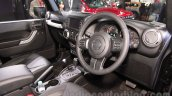 Jeep Wrangler Unlimited interior at Auto Expo 2016