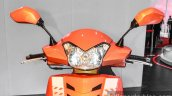 Mahindra Gusto 125 head lamp at Auto Expo 2016