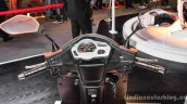 Mahindra Gusto 125 instrument cluster speedometer at Auto Expo 2016