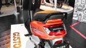 Mahindra Gusto 125 pillion grab handle at Auto Expo 2016