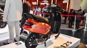 Mahindra Gusto 125 rear quarter at Auto Expo 2016