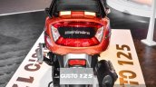 Mahindra Gusto 125 tail lamp at Auto Expo 2016