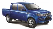 Mahindra Imperio Double Cab blue side