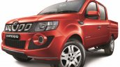 Mahindra Imperio Double Cab red alloy wheel