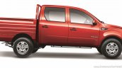 Mahindra Imperio Double Cab red side