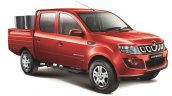 Mahindra Imperio Double Cab red with drums