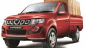 Mahindra Imperio Single Cab loaded front quarter