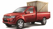 Mahindra Imperio Single Cab red loaded side