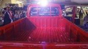 Mahindra Imperio cargo bay red single cab