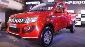 Mahindra Imperio front quarter red single cab
