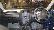 Mahindra Imperio interior blue double cab