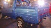 Mahindra Imperio rear quarter blue double cab