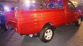 Mahindra Imperio rear quarter red single cab