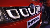 Mahindra Imperio toothed grille red single cab