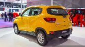 Mahindra KUV100 Yellow colour at Auto Expo 2016