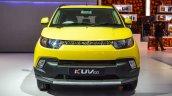 Mahindra KUV100 Yellow front at Auto Expo 2016