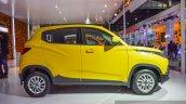 Mahindra KUV100 Yellow side at Auto Expo 2016