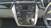 Mahindra KUV100 center console close first drive review