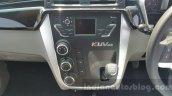 Mahindra KUV100 center console